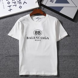 T-Shirt manica corta O-Neck manica corta da uomo nuova moda 2018 T-Shirt Kanye West Lettera Stampa T-shirt stile hip-hop street sportswear. in Offerta