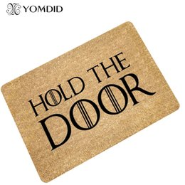 Discount simple mat - Simple fashion modern door mat absorbent non-slip Bathroom Kitchen stair Carpets Doormats rug for Living Room home decor