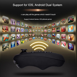 gamepad controller ios 2019 - VRPARK Virtual Reality 3D VR Glasses Gamepad Game Joystick Bluetooth Remote Controller for iPhone IOS Android Smartphone