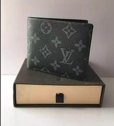 2017 neue L tasche Kostenloser versand brieftasche Hohe qualität Plaid muster frauen brieftasche männer pures high-end luxusmarke designer L brieftasche mit box