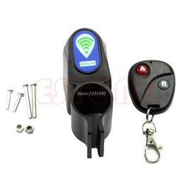 $enCountryForm.capitalKeyWord UK - Lock Bicycle Cycling Security Wireless Remote Control Vibration Alarm Anti-theft