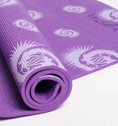 $enCountryForm.capitalKeyWord UK - 72x24x0.24 inch (183*61*0.8cm) Prints Yoga Mat Gym Fitness Training Exercise Body Building Cushion 8mm Thick Pad