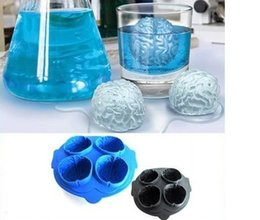 $enCountryForm.capitalKeyWord NZ - Free Shipping Brain Ice 3D Mold Silicone Mold Cake Tools Cutter Ice Molds Cream Mould Cooking Tools Tools