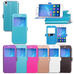 $enCountryForm.capitalKeyWord Australia - PU Leather Flip Fold Wallet Case with [ID&Credit Card Slot] for Huawei Nova Honor 5C Ascend 6X Y5 II 2 4A Y6
