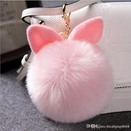 $enCountryForm.capitalKeyWord NZ - Soft Plush Toys for baby adult Rabbit Animal Fur Doll Plush Toy Stuffed Toys Kids women Birthday Gift Doll Keychain R2