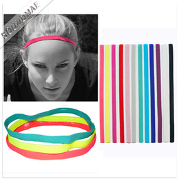 d3ed07686c5 Girls Softball Sports Yoga Headbands Set Elastic Bands for Birls Girls  Braided Mini Non Slip Running Womens Hair Bands Individual Package