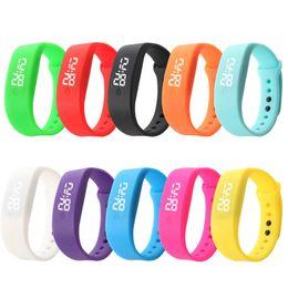 Men Digital Wrist Watches Australia - Really Cheap Sports Wrist Men's Watch Ultra Thin Man Girl Sports Silicone Digital LED Casual Wristwatch Sporting Styles Clock