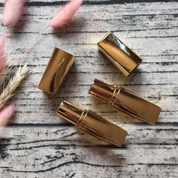high end lipstick 2020 - Empty Gold Lipstick Tube, Elegant High-end Lip Blam Sub Container, DIY Plastic Gold Lip Rouge tube fast shipping F201731