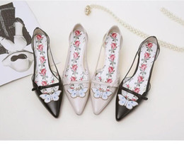 Pointed Toe Crystal Butterfly Decor High Heels Strange Style Heel Women  Shoes Print Flower Insole Sandals Pink Sole Women Pumps 0cf385c9306e