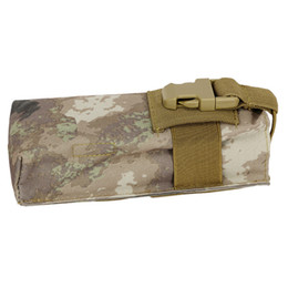China New Outdoor Sports Hunting Military Tactical Airsoft Paintball Molle Radio Talkie Water Bottle Canteen Bag Pouch suppliers