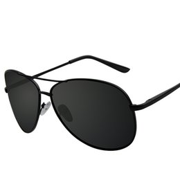 fe0f77af3c Cubojue Mens Polarized Sunglasses Frog Aviation Sun Glasses for Man Female  Vintage Classic Design Male Sunglass Anti Polar