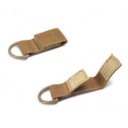 $enCountryForm.capitalKeyWord Australia - Y6360E Portable Outdoor Hiking Molle Webbing Belt D-Ring Camping Backpack Keychain Buckle Hook Clasp