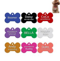 f7b2bb1bf958 Etiqueta de identificación de perro militar Etiqueta de perro para mascotas  mezcla de colores en blanco etiquetas para mascotas lazer grabar nombre ...