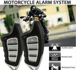 Engine Start Australia - Motorcycle Security Alarm System Detecting Anti-hijacking Motorbike Theft Protection Remote Engine Start