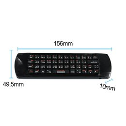 Discount learn russian Mice Keyboards Keyboards Rii i25A Russian Layout 2.4Ghz Wireless Air Fly Mouse Keyboard with IR Remote Learning and Earp