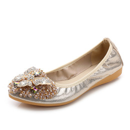 Rhinestone Pisos Para de Moda Zapatos 2018 Marca de Mujeres Zapatos de Plata Planos Señoras Lolita punta calzado de Negro Mujeres Pisos estrecha Las Ballet SxE7wxRfq