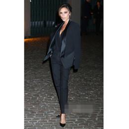 70b843a911a Uniforme formal de oficina diseño para mujer, traje de pantalón, traje negro,  chaqueta y traje elegante para mujer, ropa de negocios