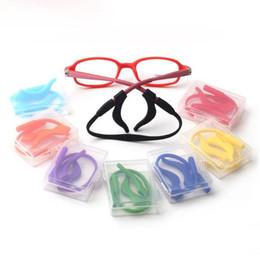 01af76efc81 Anti-slip Glasses Ears Hook Set Children Super Soft Silicone Rope Sunglasses  Glasses Cords Eyeglasses Chain Cord Holder String Rope