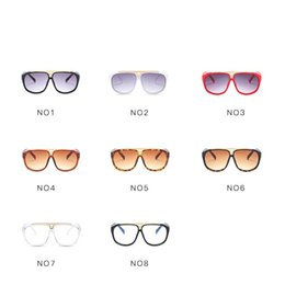 pattern decor NZ - Popular European Style Photograph Decor Eyeglasses Fashion Suit Many Face Sunglasses Big Frame Men And Women Sun Glasses New Pattern 11jy Z