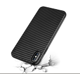 Discount fiber max - Carbon Fiber TPU Silicone leather Soft Full Back Cover For iphone X XR XS MAX 7 8 PLUS