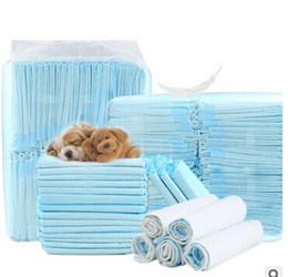 Discount absorbent pads diaper - Disposable Pet Dog Diaper Super Absorbent Doggie Training Diapers Water Absorbing Soft Puppy Cat Urine Pad Dog Cleaning