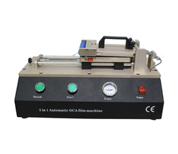 Wholesale New in With Build in Pump For LCD Repair Machine Automatic OCA And Polarizer Laminating Machine For Phone Replacement