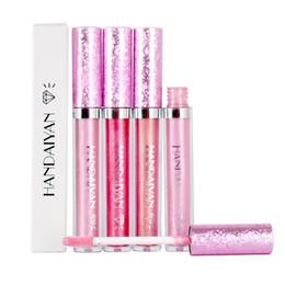 glossy lipsticks 2019 - 6 Colors Moisturizer Waterproof Shimmer Liquid Lipstick Matte Batom Makeup Metallic Lip Gloss Long Lasting Glossy Tint C