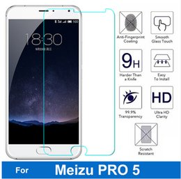 Wholesale Meizu Pro tempered glass inch H D High Quality Screen Protector Film For Meizu MX5 Pro Cell Phone Free Cleaning Kits gt lt