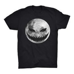 $enCountryForm.capitalKeyWord UK - Halloween T Shirt Top Moon Face Jack O Lantern Trick Or Treat Sweets Spooky Gift
