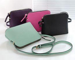 Diseñador de la marca de Las Mujeres de Cuero de LA PU Bolso de Hombro Femenino Crossbody Shell Bags Moda Pequeño Bolso Mensajero Bolsos en venta