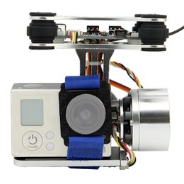 Discount gopro axis - FPV 2 Axis Brushless Gimbal With Controller For DJI Phantom GoPro 3 for RC Drone FPV Racing