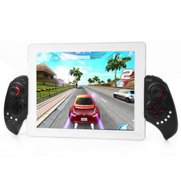 wireless gamepad iphone NZ - iPega PG-9023 Wireless Bluetooth Game Controller Gamepad Joystick with Stretch Bracket for iPhone 6 Plus iOS Android System