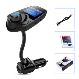 Flash Drive Charger Canada - Eincar FM Bluetooth FM Transmitter Radio Adapter Car Audio Kit 5V 2.1A USB Car Charger MP3 Player TF Card USB Flash Drive