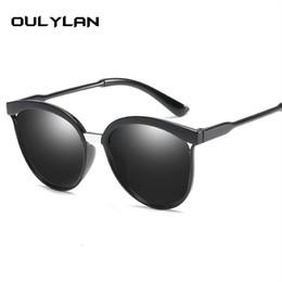 Oulylan Marke Designer Cat Eye Sonnenbrille Frauen Luxus Vintage Kunststoff Sonnenbrille Männer Klassische Retro Cateye Brillen im Angebot