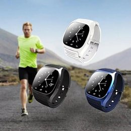 $enCountryForm.capitalKeyWord NZ - Bluetooth Pedometer Thermometer Music Player Dial Smart Wrist Watch for Phone