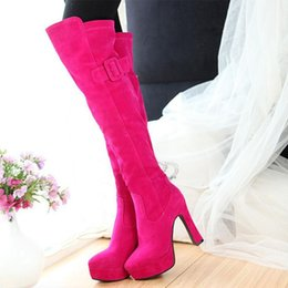 ost release dates European and American new knee-high boots show thin belt buckle Knight boots thick with anti-pump heels spring and winter outlet newest cheap sale outlet locations buy cheap free shipping rieAXP
