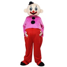 clown mascot costume adult UK - Adult Character Bumba brothers mascot costume Pipo clown mascot Costume Fancy Dress for Halloween party costumes