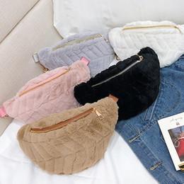 $enCountryForm.capitalKeyWord NZ - Women Velvet Waist bag Luxury Designer Belt Bag Chest Pack Clutch Wallet Travel Crossbody Shoulder Chain Bags