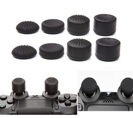 sony playstation ps4 2018 - 8pcs Lot Enhanced Silicone Analog Controller Thumb Stick Grip Cap Skin Cover for Sony PlayStation 4 PS4 Controller PS4 S
