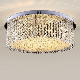 Class Kitchens NZ - Dimmable modern luxury led crystal ceiling chandeliers high class K9 crystal round ceiling chandeliers lights for study room forlight