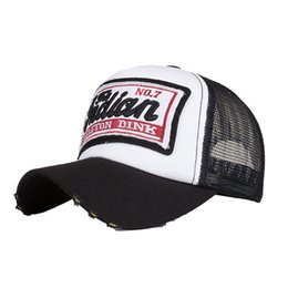 hat summer baby girl fashion Embroidered Summer Cap Mesh Hats For Men Women  Casual Hats Hip Hop Baseball Caps casquette homme A8 bc8cd8698e15