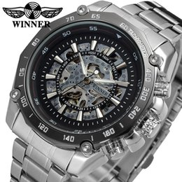 $enCountryForm.capitalKeyWord Australia - Winner Relogio Masculino Mens Automatic Mechanical Watches Top Brand Luxury Fashion Skeleton Clock Men Sport Wristwatches SLZb47