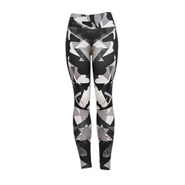 Digital Printing Yoga Pants NZ - Digital Printing Yoga Pants Printing Leggings Hip Elastic Fitness Pants Women Breathable Slender Accept Wholesale