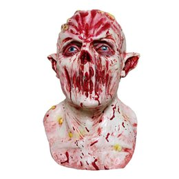 $enCountryForm.capitalKeyWord UK - Scary Realistic Halloween Blood Skull Ghost Full Head Masks Cosplay Horror Creepy Party Mask Costume Prop