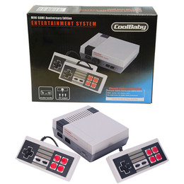 classic video games for tv 2019 - Mini Edition TV Game Console Video Handheld Classic Retro Entertainment System For NES FC Games Console Kid Xmas Christm