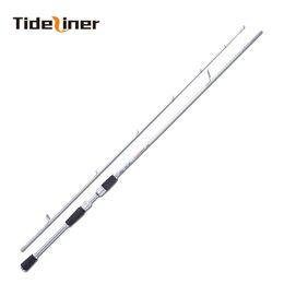 Lighting Lure NZ - Tideliner Spinning Fishing Rod 1.65m 1.8m 2 Sections MH power carbon fiber lure rods light Culter alburnus pole test weight 5KG