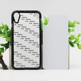 Diy aluminium case online shopping - 3 color DIY Sublimation Heat Press PC cover case with Metal Aluminium plates for iphone PLUS IPHONE X XR XS MAX