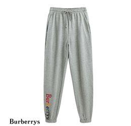 Ingrosso Pantaloni firmati 2019 L'ultima moda ricamo ricamo alfabeto pantaloni hip hop amanti casual mens di lusso della tuta sportiva