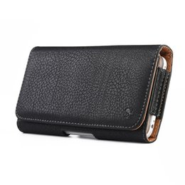 Low price Leather beLts online shopping - Low Price Leather Pocket for Phone Wallet Belt Prosertive Cover for iPhone Galaxy S9 Plus Low Price