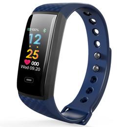 $enCountryForm.capitalKeyWord UK - Sport Bracelet Watch Women Men LED Waterproof Smart Wrist Band Heart rate Blood Pressure Pedometer Clock For Android iOS